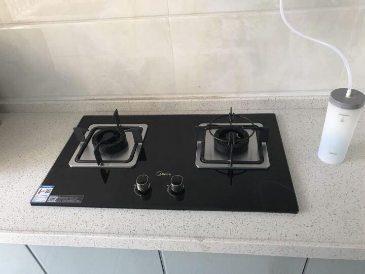 美的(Midea)欧式抽油烟机灶具套装洗碗机烟灶洗套装DT518R+Q360B+3905 液化气 晒单图