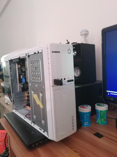 游戏帝国(GAMEMAX)小精灵 白色 迷你机箱(支持MICRO主板/机箱电源套装/U3/读卡器/带风扇/带230W电源) 晒单图