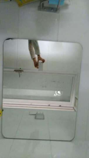 YISHARE防爆浴室镜无框卫浴镜子圆角卫生间洗漱镜子z6002简约厕所镜子 5MM银镜+防爆 60*80cm 晒单图