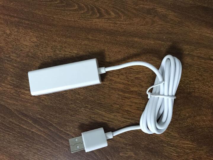 优越者(UNITEK)Y-2146GWH USB2.0分线器高速一拖四转换器HUB集线器 笔记本电脑扩展带指示灯白色 120CM 晒单图