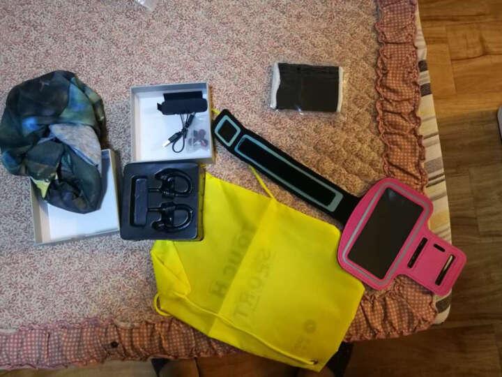 击音(iGene)Touch Sport 触控级 降噪运动防水蓝牙耳机 男女分款 挂耳式跑步健身 4.1无线HIFI  骑士黑-女 晒单图