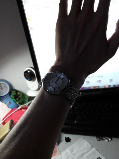 罗西尼(ROSSINI)手表 雅尊商务系列不锈钢石英情侣表钟表男表R6355W01G 晒单图