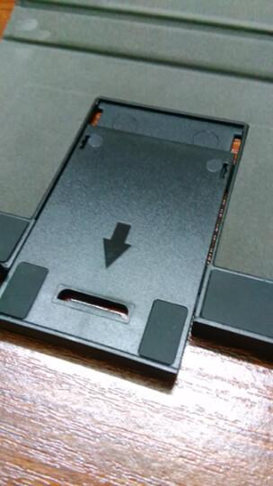 航世(B.O.W)HB088 可折叠带鼠标触控功能无线蓝牙键盘 ipad平板手机多设备通用办公键盘 灰色 晒单图