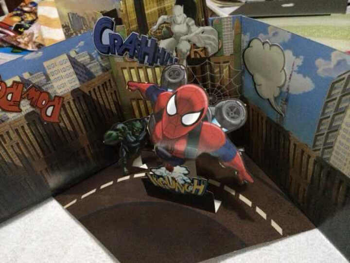 超级英雄创意立体手工:蜘蛛侠终极挑战 晒单图