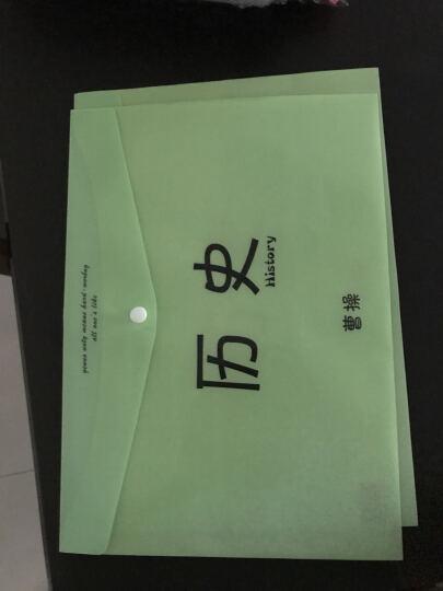韩国文具 可爱A4试卷文件袋透明文件夹资料袋办公用品科目分类 历史 晒单图
