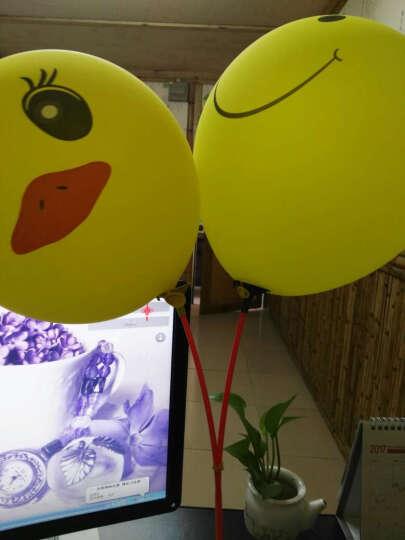 气球杆子六一气球托杆 生日乳胶气球支杆27厘米长气球杯 开业活动聚会派对气球铝膜托杆 27厘米托杆100支 颜色随机 晒单图