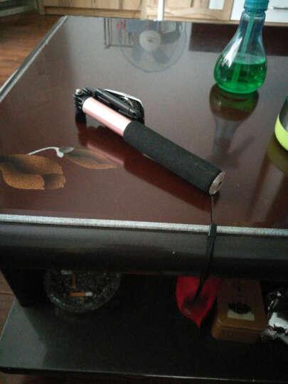 朗客 美拍QK-04金属蓝牙高端手机自拍杆/自拍器 适用于苹果/小米/三星等手机苹果iOS及安卓系统 玫瑰金 晒单图