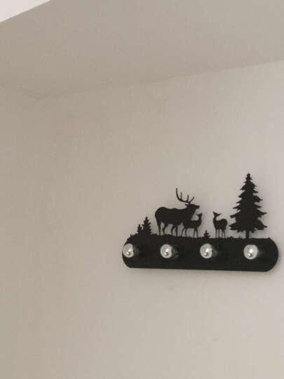 赫曼美式loft创意动物壁灯工业风复古卧室过道餐厅咖啡厅休闲吧野马铁艺镜前灯lc1015 A款圣诞树 带无影灯泡LED3W 晒单图