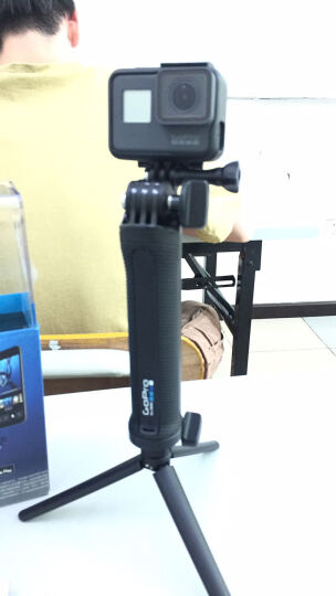 GoPro HERO7/6/5 新款4K60帧运动相机 高清水下潜水摄像机 GoPro6运动相机+三向 晒单图