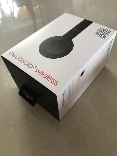 beats solo3 Wireless无线蓝牙头戴式耳机折叠式重低音运动耳机带麦全新正品三码合一 丝缎银 晒单图