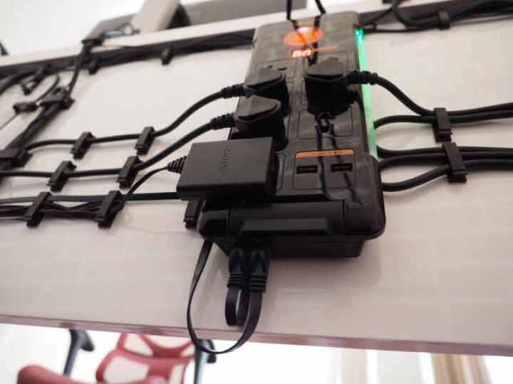 包尔星克 六类扁线 双绞千兆网络跳线电脑宽带网络连接线 成品网线 水蓝色 20米(PowerSync)C65B20FL 晒单图