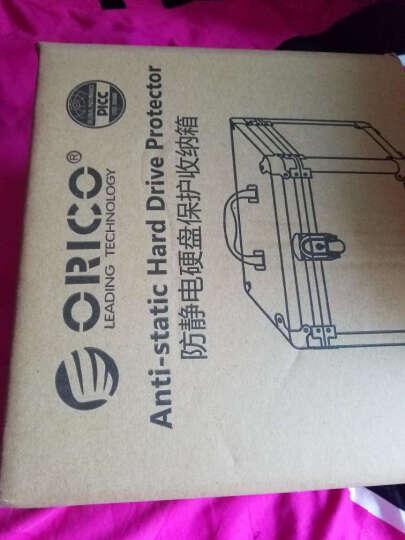 奥睿科(ORICO)5粒全铝手提式硬盘保护箱 防潮/防尘/防震保护盒 银色BSC35 晒单图