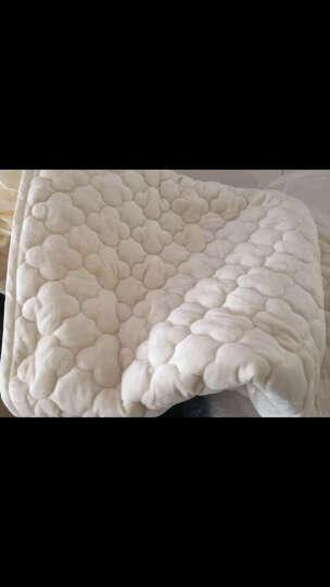 北极绒家纺 床垫 床褥子 水晶绒加厚床笠床罩床垫保护套 升级款水晶绒床笠酒红 180*220cm/定做 晒单图