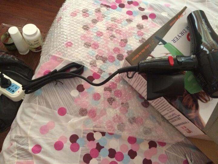 影浪(YingLang) 电吹风机家用吹风筒专业美发大小功率静音冷热男女通用款电吹风 黑色-下单就送吹风实用配件 晒单图