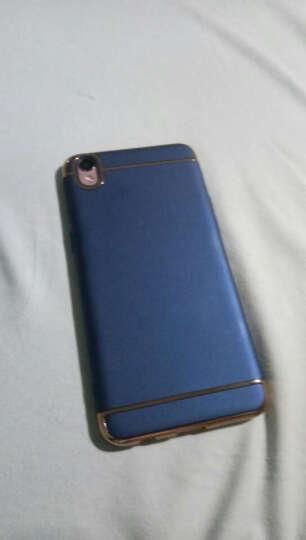 AIQAA oppor9手机壳 r9plus全包边防摔创意磨砂硬壳保护套男 伯爵蓝-5.5英寸-壳膜套装 晒单图
