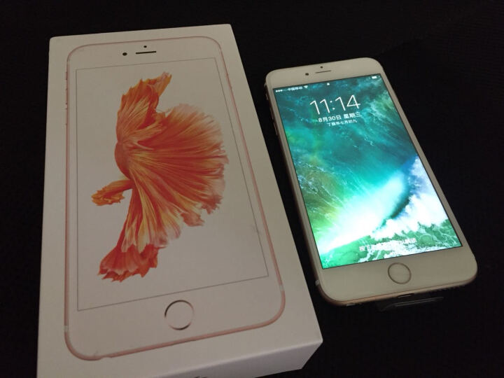 【移动赠费版】Apple iPhone 6s Plus (A1699) 32G 玫瑰金色 移动联通电信4G手机 晒单图