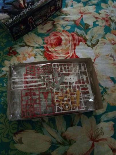 万代高达拼装模型玩具RG 敢达1/144系列 RG18 00强化敢达196427【送支架】 晒单图