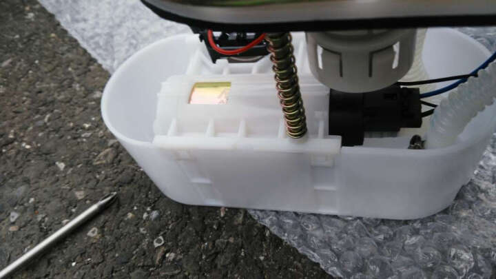 (阿派斯)汽油泵支架总成 燃油泵 油泵支架总成 一汽 上汽大众 马自达6(03-12年) 晒单图