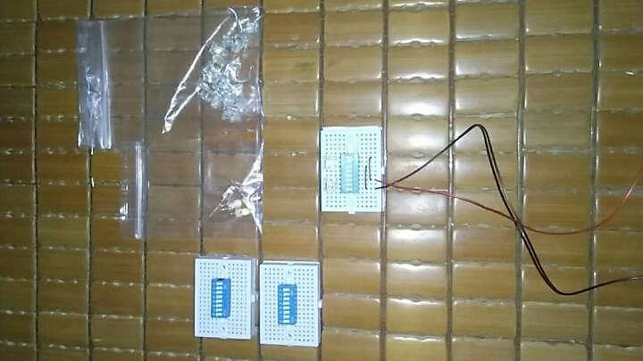TaoTimeClub LED灯 高亮 平头 白光 正白光 食人鱼灯珠 发光二极管 灯珠(10只) 晒单图