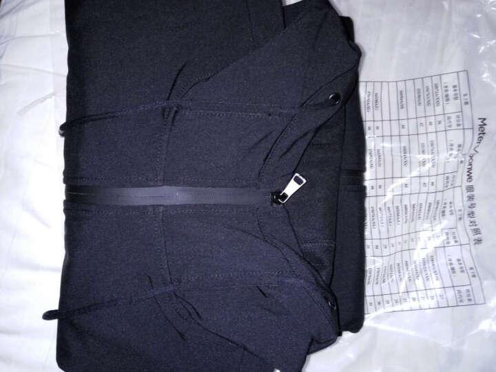 夹克男士秋季新款抓绒内里保暖防风短款连帽外套  Q 黑色 180/100A 晒单图