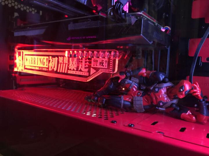 追风者(PHANTEKS) 416PTG白色 钢化玻璃RGB版 水冷电脑机箱(配2把RGB风扇/支持280水冷/背线SSD长显卡) 晒单图