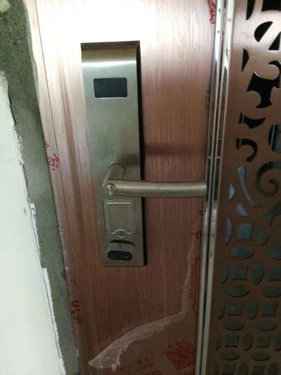 必达G6指纹锁家用电子锁密码锁智能门锁防盗门锁大门锁免费安装 G6FM时尚银(指纹+感应卡 锂电池) 带防倒钩 晒单图