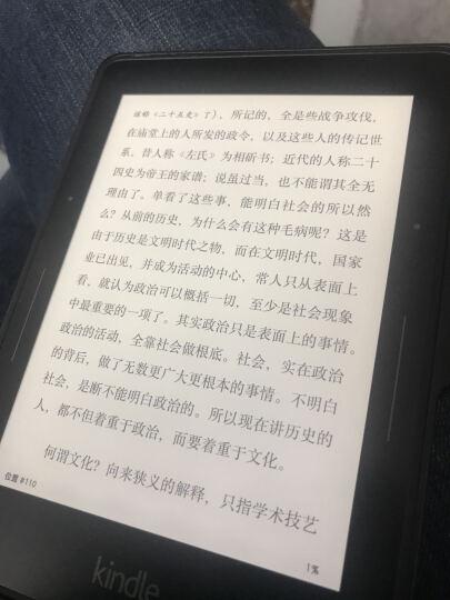 Kindle Voyage亚马逊电子书阅读器旗舰版4G电纸书6英寸超高清电子墨水屏WIFI KV电纸书+纤薄红色 晒单图