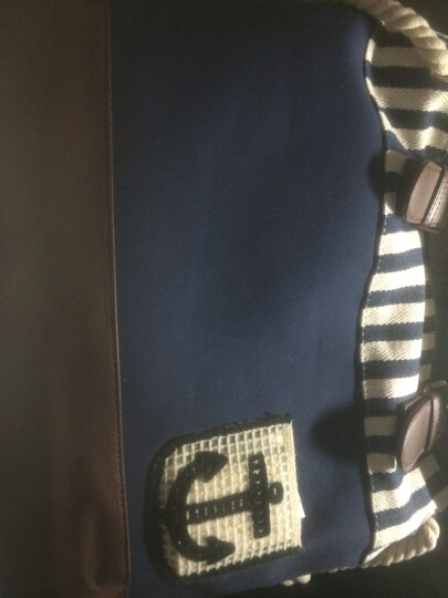 SUPERLOVER2016新款单肩包女日系帆布包小清新手提单肩包原创时尚休闲大包手袋 晒单图