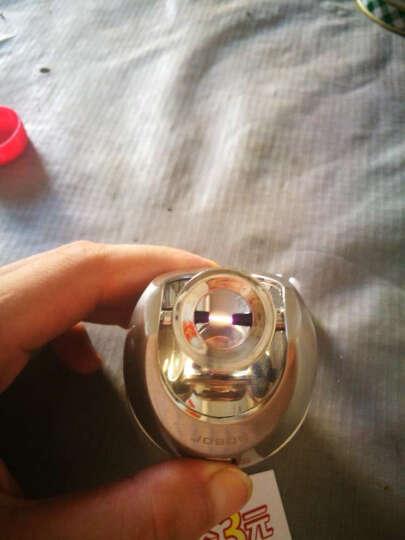 JOBON中邦 USB充电打火机+烟灰缸二合一 多功能电子防风球形电弧个性车载点烟器 金色 2017新款 晒单图