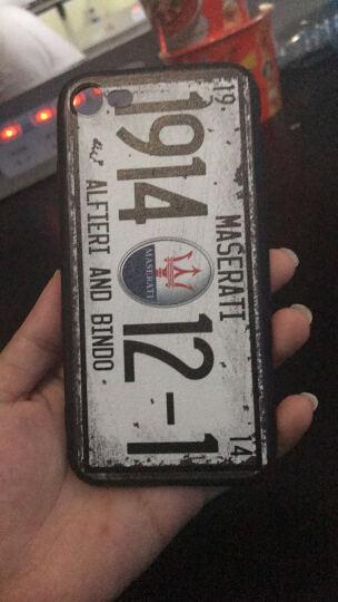 名机谷 世界名车苹果7车标手机壳复古车牌iPhone7/6s跑车硅胶保护套 i7/8 4.7寸兰博基尼 晒单图
