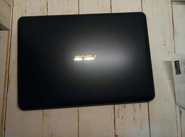 华硕(ASUS) ? 笔记本电脑超薄14英寸R417/E402轻薄本手提电脑超级本上网本学生办公 学生办公N3450/4G/256G固态 蓝黑 晒单图