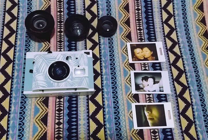 Lomo'Instant Panama 拍立得相机-巴拿马热带特别版 连三款镜头套装 晒单图