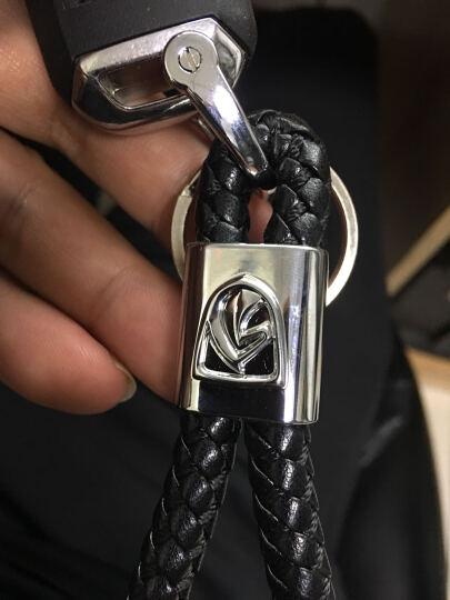 潜劲 汽车钥匙扣 真皮钥匙链 长安哈弗斯柯达吉利林肯众泰三菱斯巴鲁玛莎拉蒂荣威奔腾纳智捷 玛莎拉蒂总裁Ghibli GT GC古博力 莱万特 颜色--红色 晒单图
