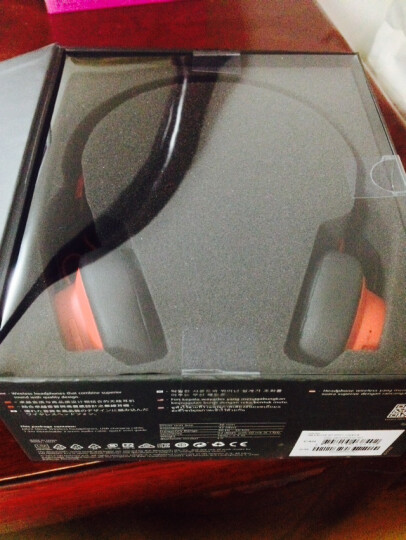 捷波朗(Jabra)MOVE WIRELESS 沐舞 无线蓝牙 头戴式 音乐耳机 蓝色 晒单图
