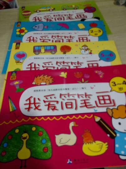 北斗童书全4册我爱简笔画2-6岁宝宝学画画3-4-5-6岁小学生儿童画画本 低幼简笔画入门 晒单图