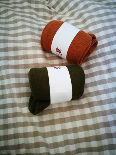 君上韩国袜子女全棉日系堆堆袜夏季秋季女袜中筒袜加长袜学生薄款短袜 军绿色4双 晒单图