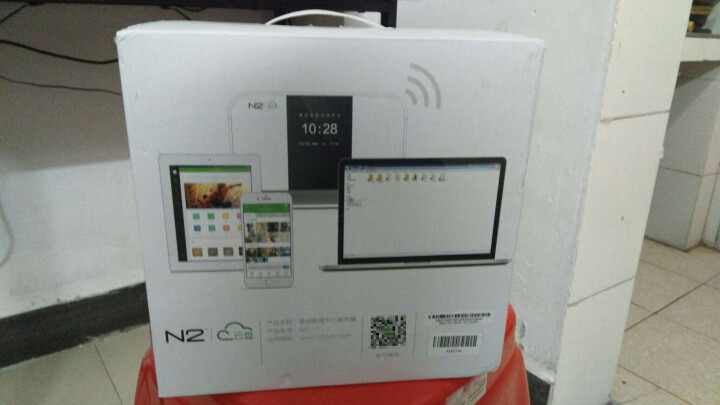 恩兔(N2)ND-1 NAS 家庭云盘 智能云存储 双盘位多功能存储服务器 支持SD卡 摄影/影视智能存储 晒单图