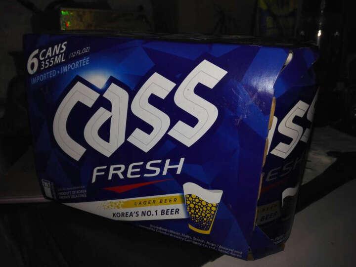 韩国进口啤酒 凯狮(CASS)原味鲜啤500mlx24听整箱装cass炸鸡啤酒 晒单图