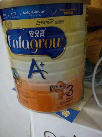 美赞臣安儿宝A+幼儿配方奶粉 3段(12-36月龄幼儿适用) 960克*4罐整箱装(新旧包装随机发货) 晒单图