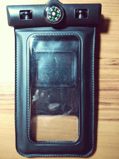 宾果iphone5手机防水包防水袋大屏防水套苹果三星Galaxy note3防水袋小米华为 5-5.7寸带指南针橙色 晒单图