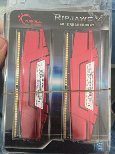 芝奇(G.Skill) Ripjaws V系列 DDR4 2400频率 16G (8G×2)套装 台式机内存(法拉利红) 晒单图