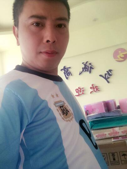 绅迈途足球服套装男夏季训练服队服光板俱乐部世界杯国家队球衣儿童成人定制 曼联-17-18 成人XL(170-175cm) 晒单图