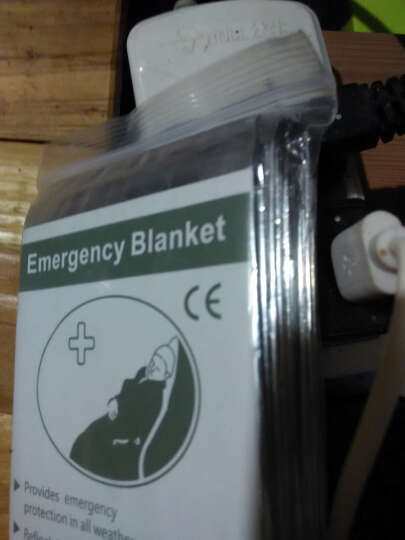 畅意游(Easy Tour)户外急救毯 防晒保温锡纸毯 自驾游装备 户外登山野营应急工具 2个装 晒单图