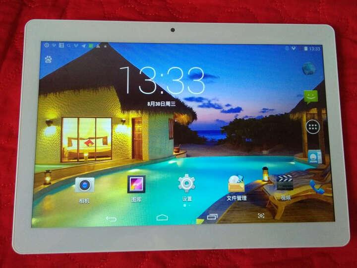 艾电尼 A101 平板电脑八核10.1英寸IPS高清屏安卓4G通话手机二合一 太空银(32G) 官方标配 晒单图