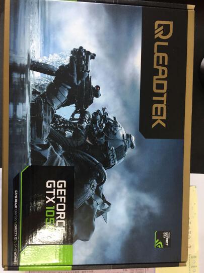 丽台(LEADTEK)GTX1050 2G/GDDR5公版 1354/1445MHz/7008MHz 2GB/128Bit/PCI-E3.0游戏显卡 晒单图