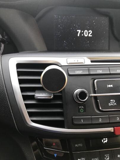 飞利浦 DLK35006 车载多功能手机支架 磁吸式空调口/出风口支架 多功能手机导航通用 金色 晒单图