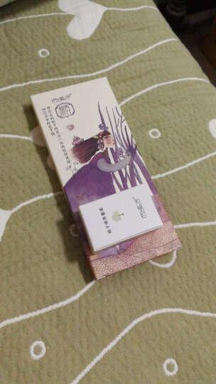 西溪子 进口天然紫罗兰木梳子 细齿shuzi DIY定制刻字随身便携儿童 红色comb 晒单图