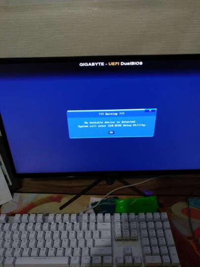 御轩 台式机电脑机箱 夜魅ATX游戏主机箱全透背线机箱 黑色+爱国者G5电源 晒单图