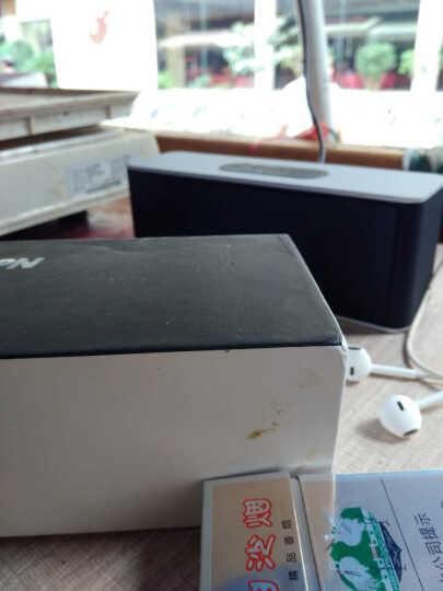 纽曼无线蓝牙音箱 创意双喇叭迷你电脑小音响低音炮 便携插卡收音机 华为小米手机音箱 时尚银 晒单图