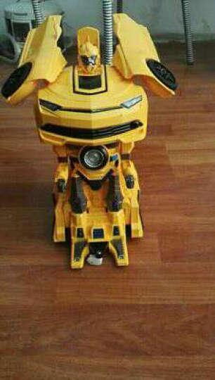 美致模型 美致智能机器人玩具 儿童遥控电动太空战警 可编程双语教学 多功能太空战警机器人【黑】 晒单图